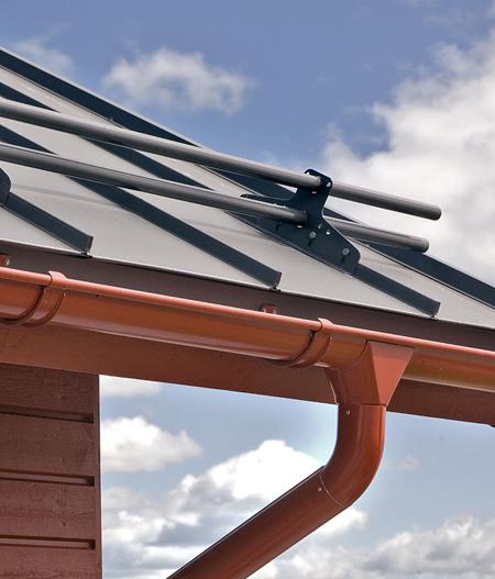 Plieninės stogo dangos priedai